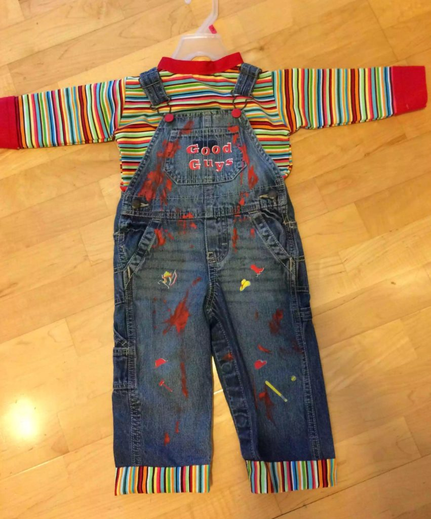 90s Halloween costume ideas for kids: Chucky Costume via HiDeeHoFriend on Etsy