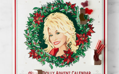When we say we need this Dolly Parton advent calendar, we mean WE NEED THIS DOLLY PARTON ADVENT CALENDAR!