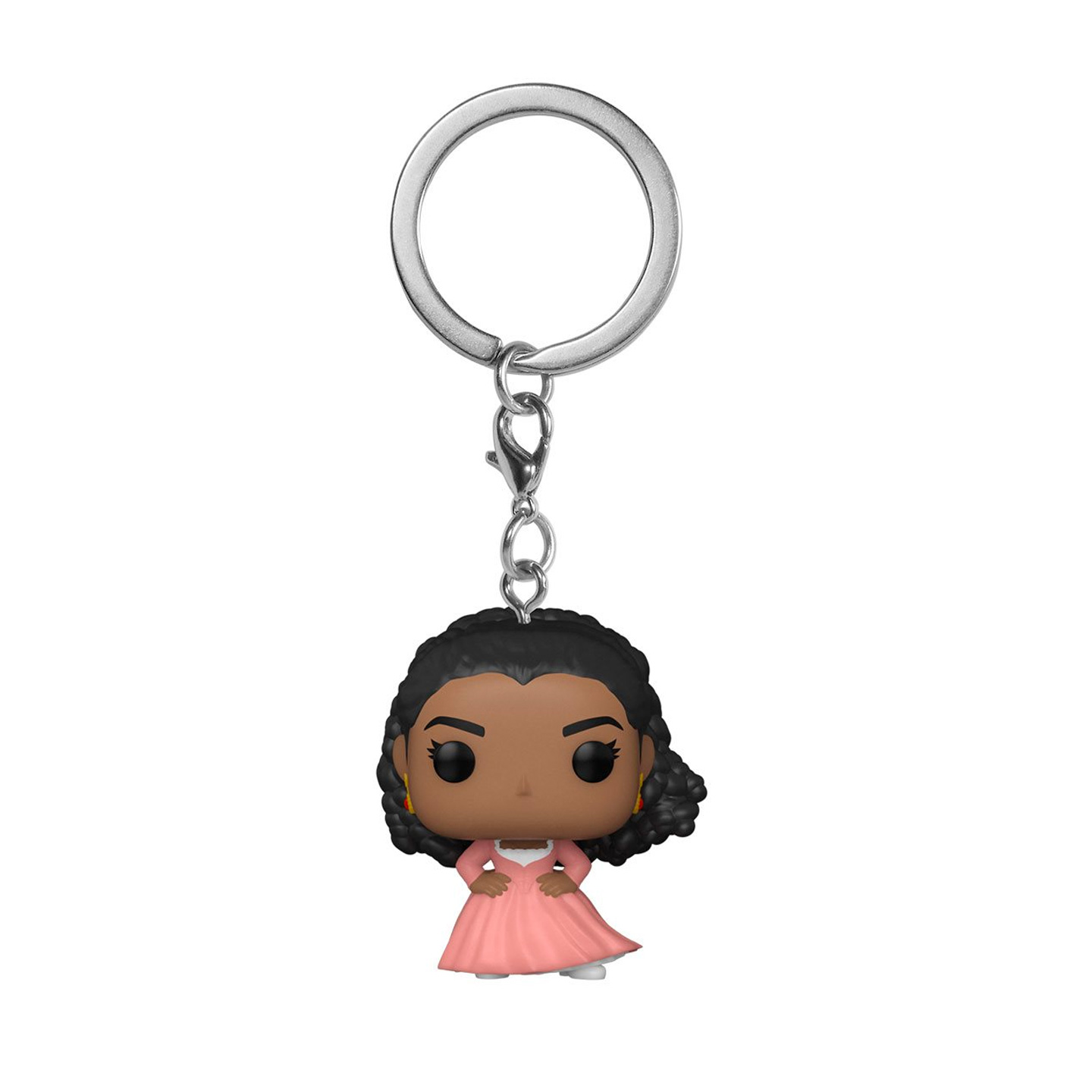 We're flipping over this Anglica Schuyler Funko pop keychain!