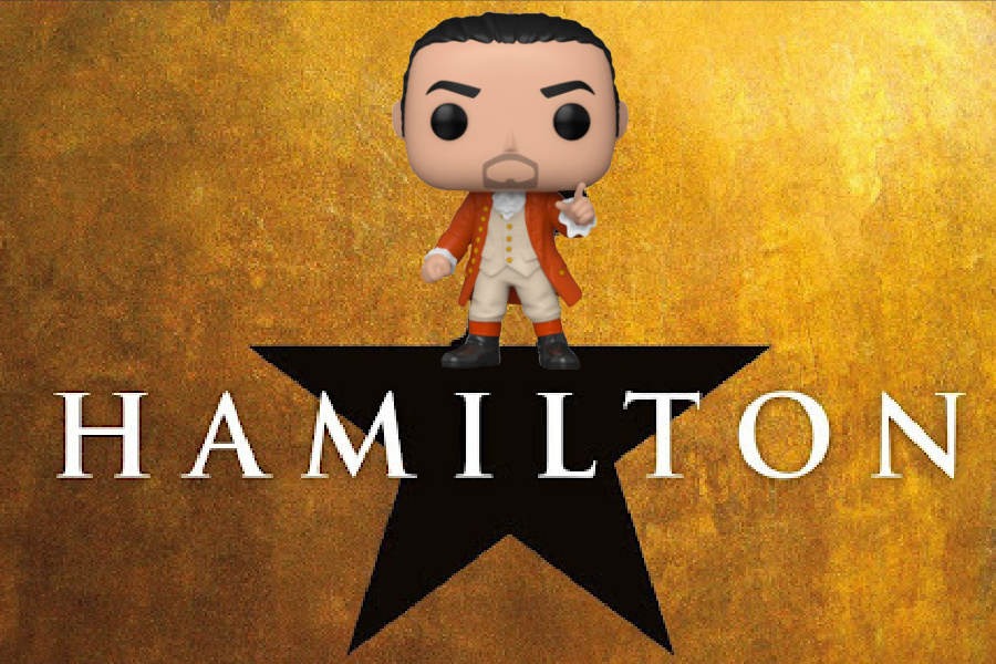 The Hamilton Funko Pop figures are here, shipping, and we're helpless to resist them.