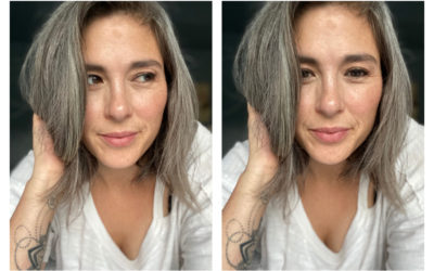 How to grow your grey hair out, without pulling it all out in the process.