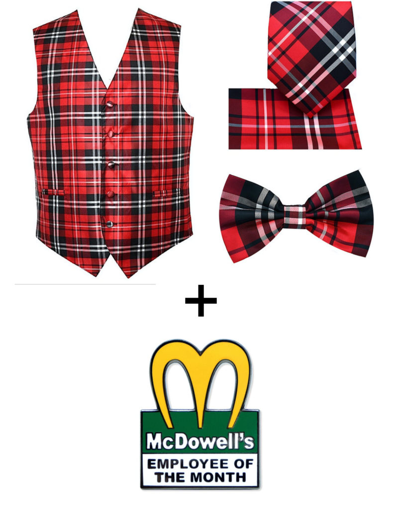 90s Halloween costume ideas for kids:  Put together a Prince Akeem McDowell's costume from Coming to America