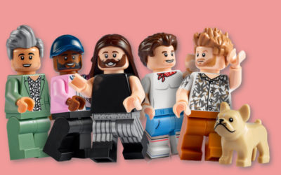 The new Queer Eye LEGO set is not just about building, but building people up.