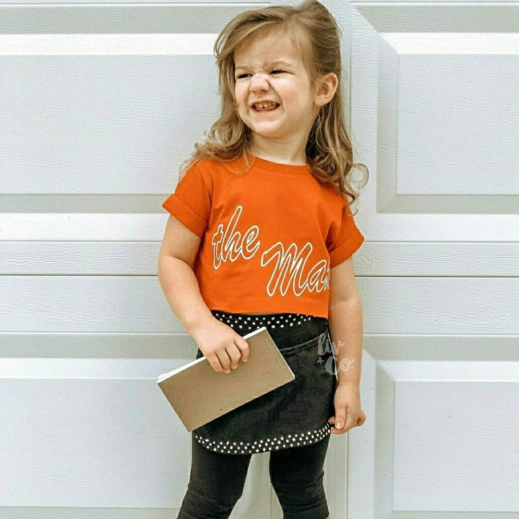 """90s Halloween costume ideas for kids: Saved by the Bell """"the max"""" tee Max tee from Liv & Co"""