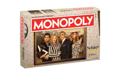 The Schitt's Creek Monopoly game is simply the best… at least as far as Monopoly games go.