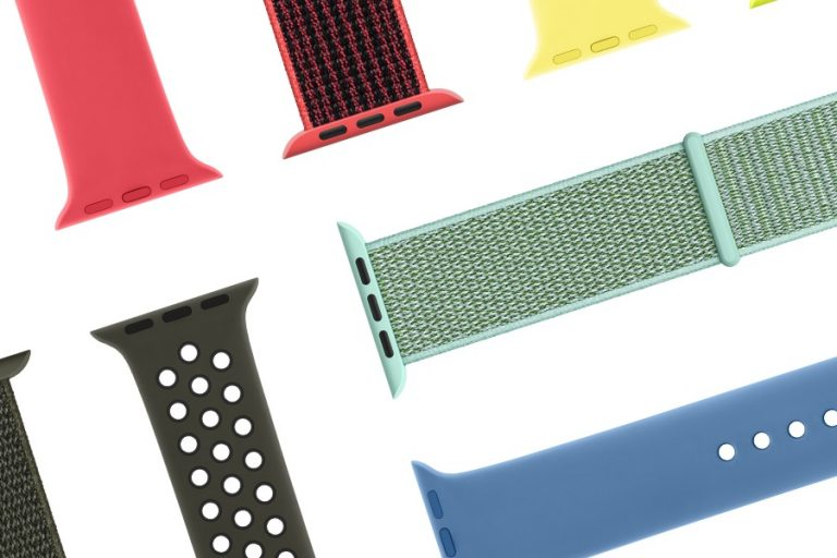 These new, bright Apple Watch bands bring spring to your wrist.