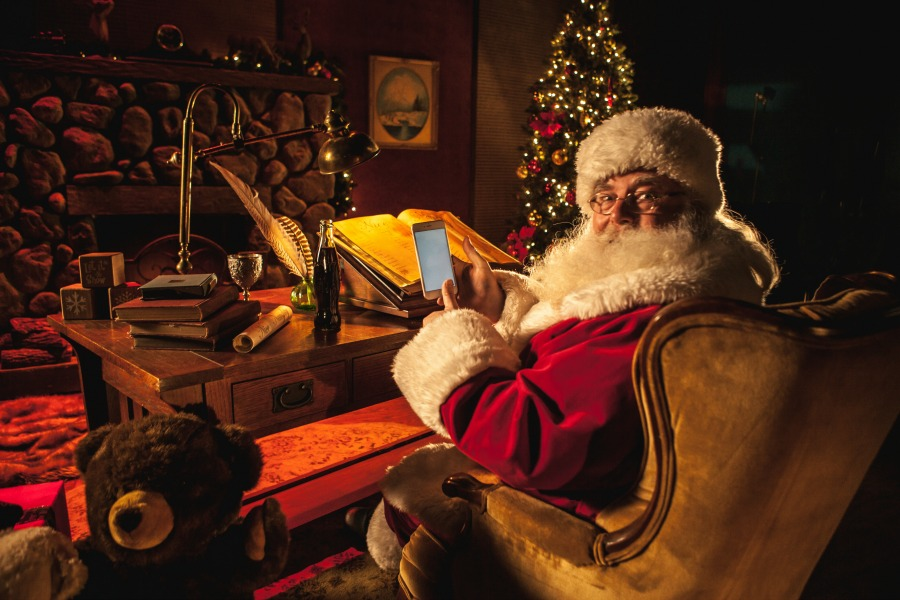 4 clever ways to track Santa this Christmas Eve (or, you know, now!)