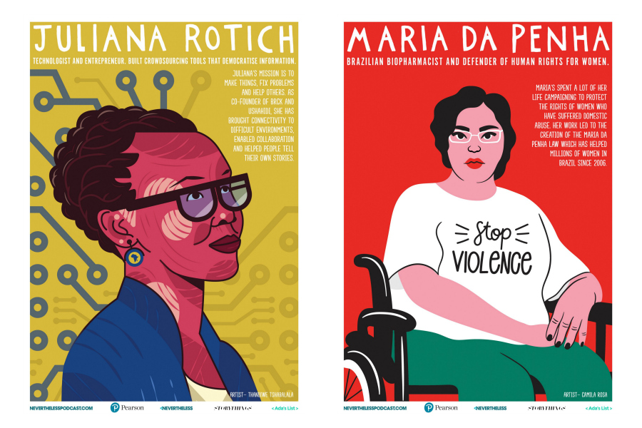 Fire up your printer for these amazing free Women in STEM posters