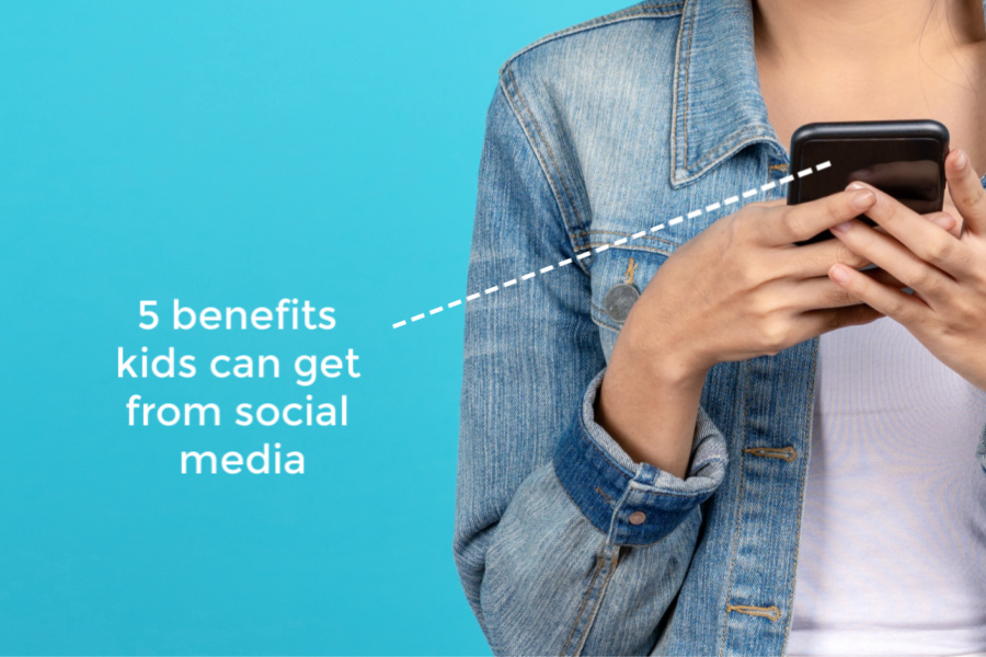 5 benefits of kids and social media. Yes, benefits! | Out-Tech Your Kids Ep 4
