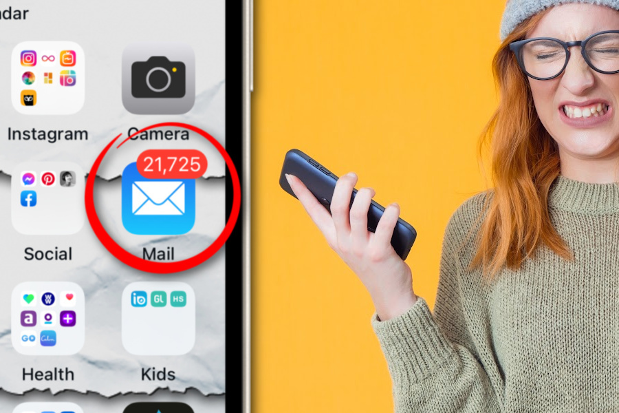 How to get rid of that unread email count badge on iPhone. Because we have enough stress these days!