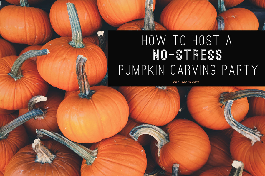 How to host a pumpkin carving party for kids: 5 tips to keep it fun and no-stress.