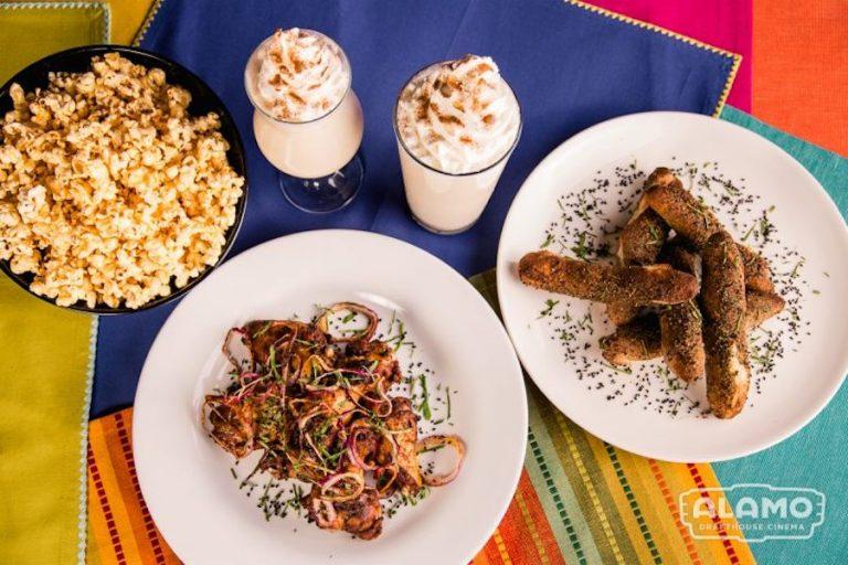 The Black Panther menu at Alamo Drafthouse transports you to Wakanda