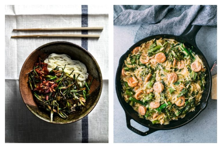 Next week's meal plan: 5 easy recipes for the week ahead, from a 5-minute Chinese New Year noodle to one skillet wonder.