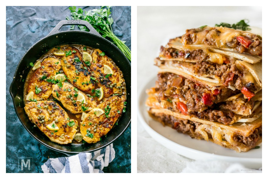 5 easy recipes for the week ahead, from 35-minute lemony chicken cutlets to sheet pan quesadillas | 2021 Meal Plan ideas #13