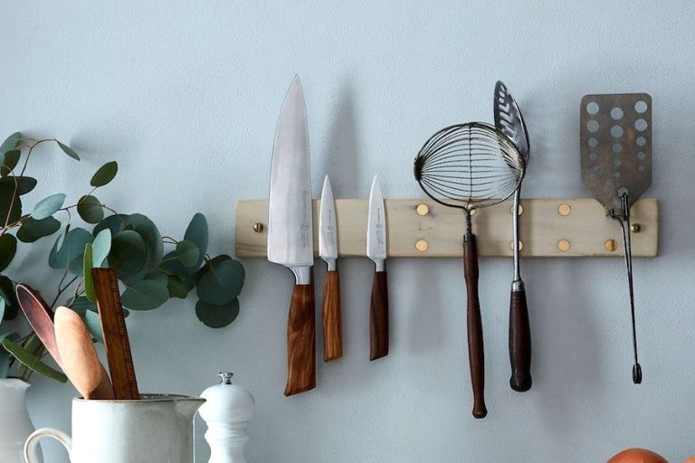 3 better ways to store knives than a knife block. Because now we know about all the bacteria in there, yuck.