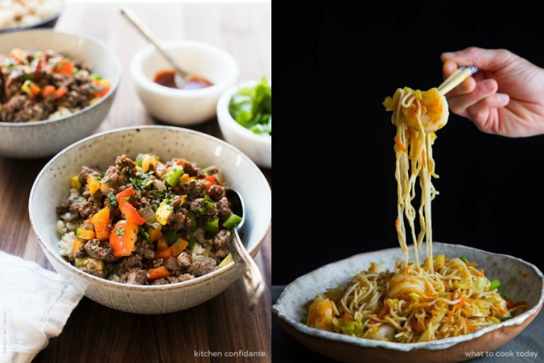 Next week's meal plan: 5 easy recipes for the week ahead, from 15-minute noodles to Filipino-Style Picadillo.