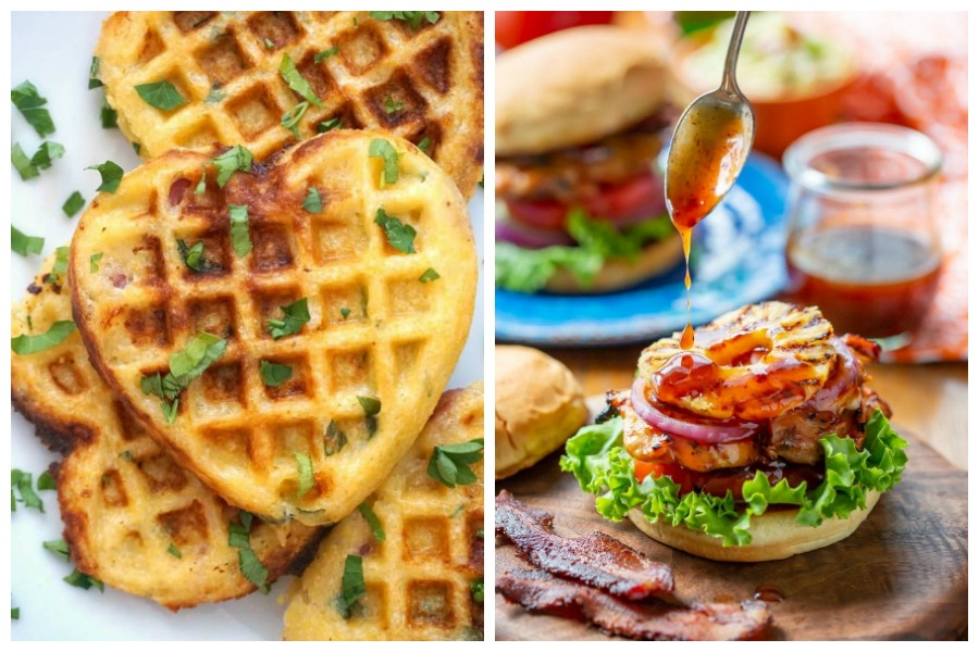 Weekly meal plan: 5 easy meals for the week ahead, including an outrageous chicken sandwich and waffles...for dinner