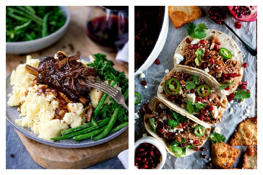 Weekly meal plan: 5 easy meals for the week ahead, from slow-cooker ribs to a deliciously unexpected taco recipe