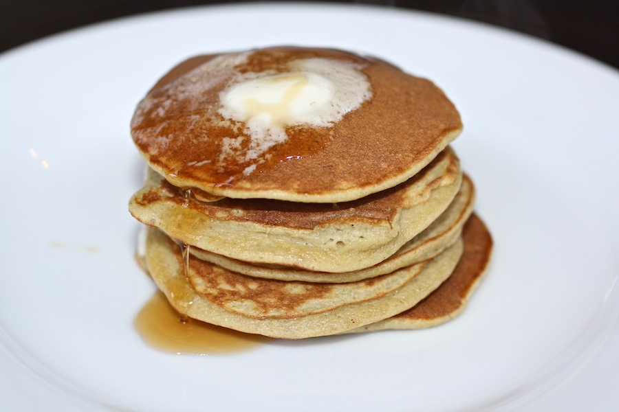 How to make 2-Ingredient Pancakes: Possibly the easiest, healthiest pancakes you'll ever serve.