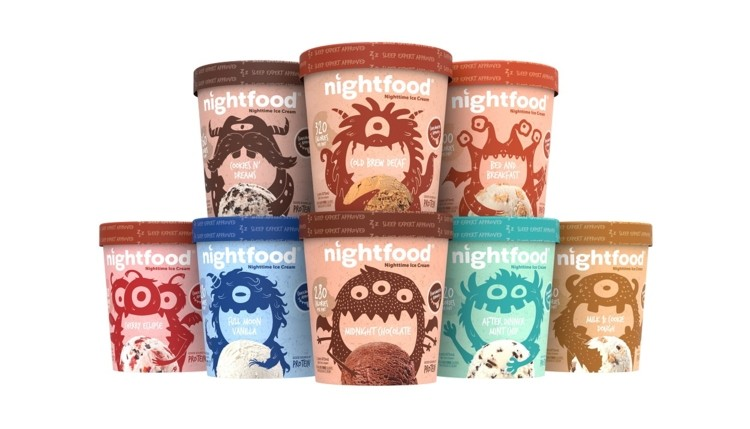 Nightfood is a low-cal ice cream that claims to help you sleep better. Who's up for testing it?