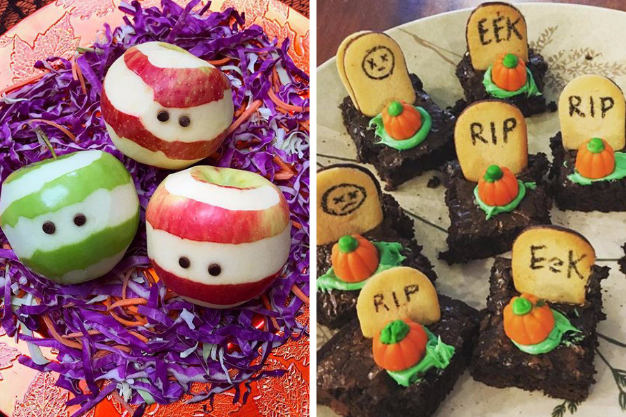 9 of our favorite easy Halloween treat ideas on our Instagram feed. You can do these!