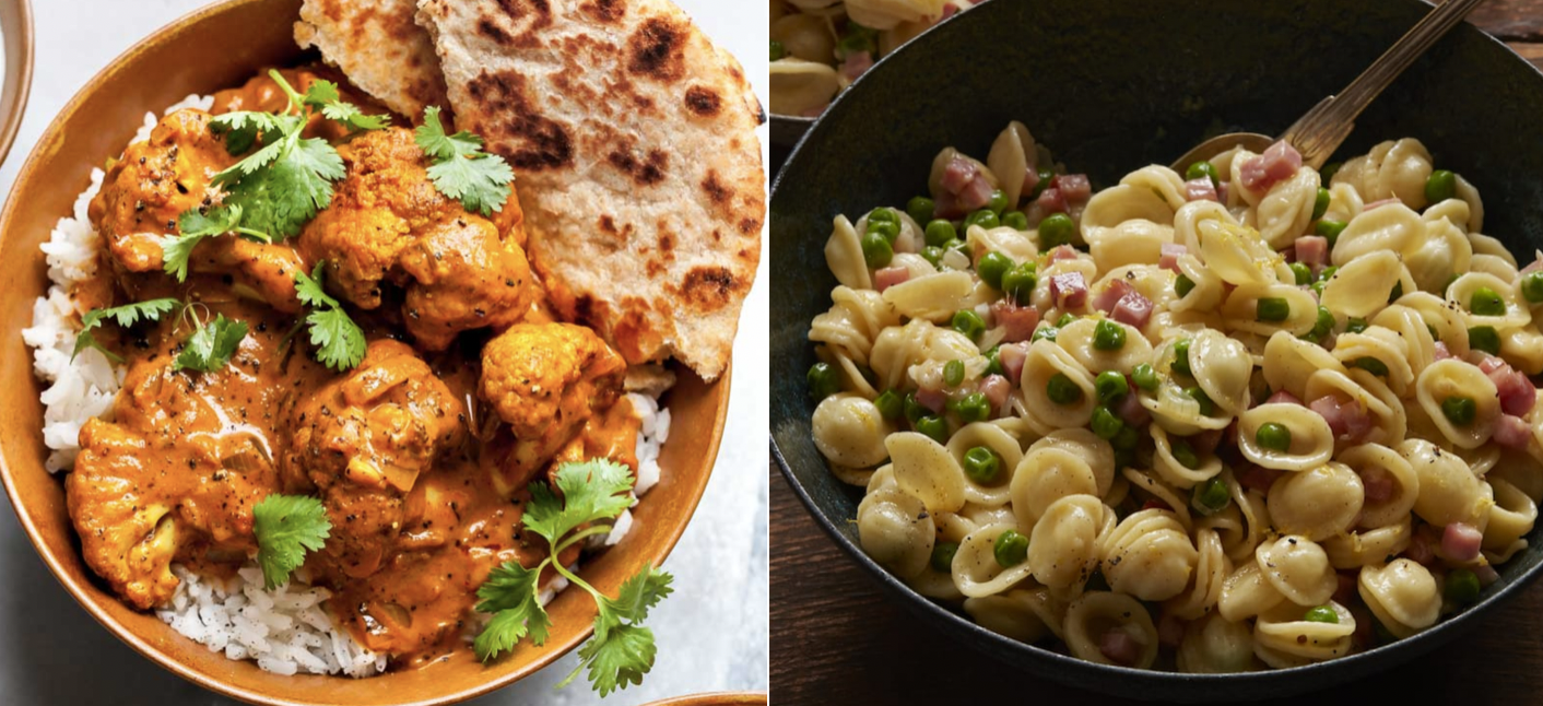 Comfort foods for a tough week: Weekly Meal Plan 222