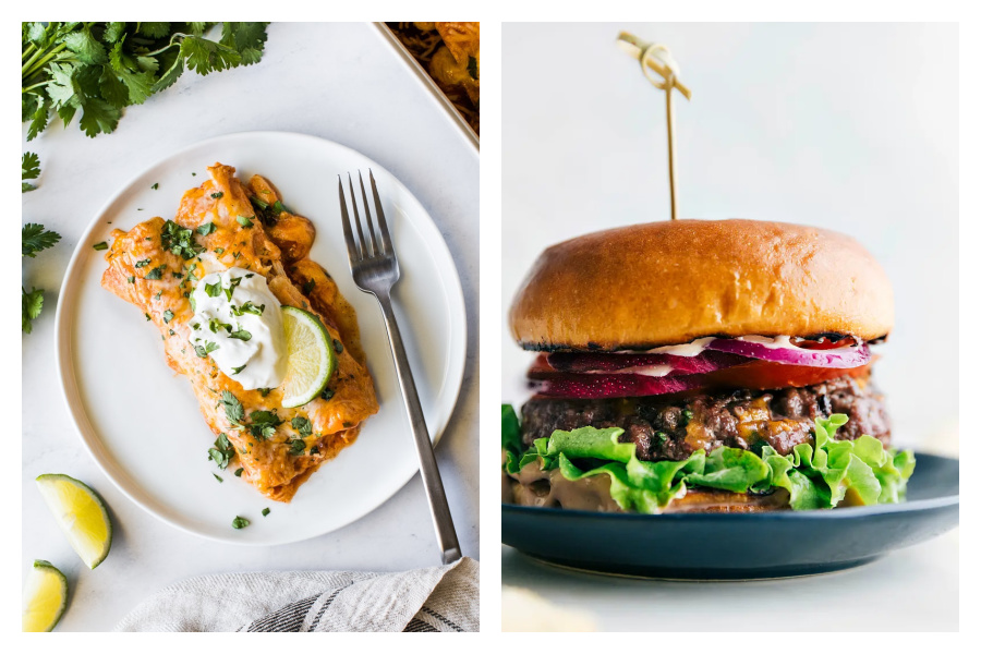 Burgers, enchiladas, and picnic dinners—oh my! | 2021 weekly meal plan ideas #13