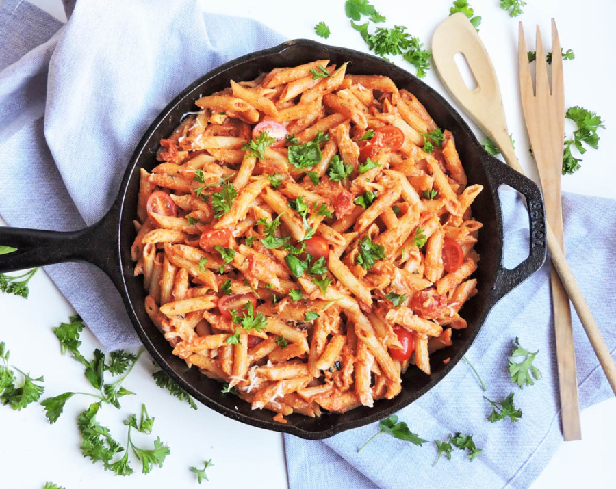 5 cast iron skillet dinner recipes | Weekly Meal Plan Ideas #26